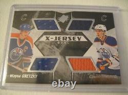 2015-16 Upper Deck SPx Hockey Wayne Gretzky / Conor McDavid Material Card NM/MT