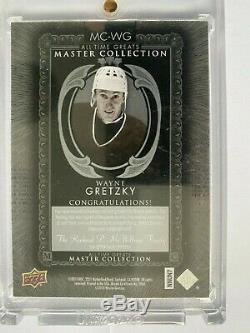 2015 Upper Deck All Time Greats Master Collection Wayne Gretzky Signed Card /20