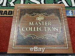 2016 upper deck all-time greats master collection Wayne Gretzky /15 Signed Box