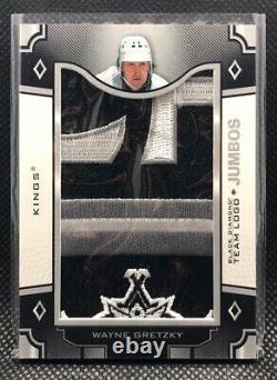 2017-18 Upper Deck Black Diamond TEAM LOGO JUMBOS #TLLA-WG Wayne Gretzky