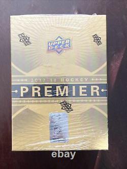 2017-18 Upper Deck Premier Hockey Hobby Box