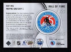 2018-19 Upper Deck The Cup Wayne Gretzky #HOF-WG Patch Auto HOF