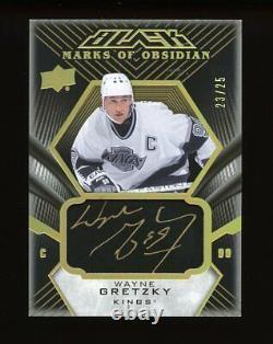 2018-19 Upper Deck Wayne Gretzky Auto /25