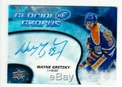 2018-19 Upper Deck Wayne Gretzky Glacial Graphs On Card Auto Edmonton Oilers Pd