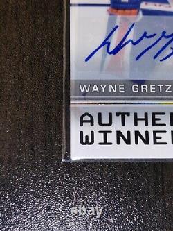 2019 20 Upper Deck SP Authentic Winners WAYNE GRETZKY Auto /10 Edmonton Oilers