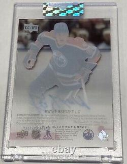 2019-20 Wayne Gretzky Upper Deck Clear Cut Ud Exclusives On Card Auto 02/15