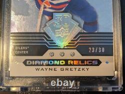 2019 Upper Deck 30th Anniversary Triple Diamond Relics WAYNE GRETZKY 23/30