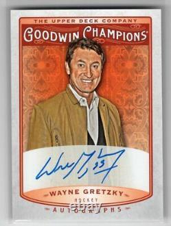 2019 Upper Deck Goodwin Champions Autograph Auto Ssp Wayne Gretzky Pls Read