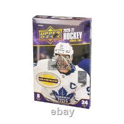 2020-21 Upper Deck Series 2 Hockey Hobby 12-Box Case