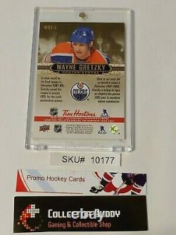 2020-21 Upper Deck Tim Hortons WGT-1 Wayne Gretzky Tribute Rare SSP SKU#100177