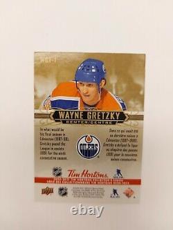 2020-21 Upper Deck Tim Hortons Wayne Gretzky Tribute SSP