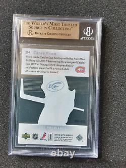 Carey Price 2007-08 Upper Deck Ice RC Premieres 28/99 BGS 10 PRISTINE Young Guns