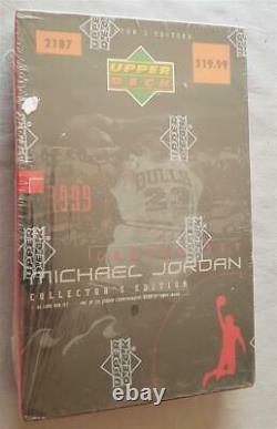 Michael Jordan Career Set 2187 Upper Deck 1999 60-Card Set