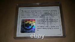 Uda Wayne Gretzky Signed Upper Deck Authenticated Card Framed Sports Illustrated