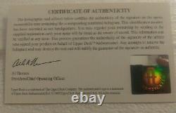 Upper Deck Authenticated UDA WAYNE GRETZKY Signed Salvino Figure 98/950 NO STICK