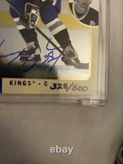 Upper Deck CARD AUTO WAYNE GRETZKY #66 325/500 Kings BAC 06948