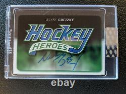 Upper Deck Clear Cut Wayne Gretzky Auto Hockey Heroes Tribute Headers 1400 Pack