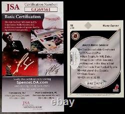 WAYNE GRETZKY-1992/93 Upper Deck HEROES JSA-Certified PERFECT AUTO/AUTOGRAPH