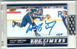 WAYNE GRETZKY 2019-20 BUYBACKS AUTO #03/15 Upper Deck Edmonton Oilers Sign RARE
