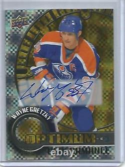 Wayne Gretzky 16/17 Upper Deck Overtime Autograph #3/3