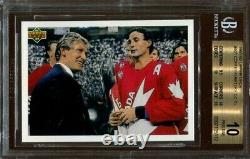 Wayne Gretzky 1991 92 Upper Deck Hockey #501 BGS 10 Pristine