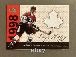 Wayne Gretzky 1998-99 Upper Deck McDonald's Game Used Jersey 176/198 VERY RARE