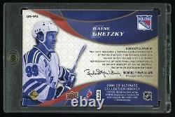 Wayne Gretzky 2008-09 Upper Deck Ultimate Collection Ultimate Signatures Auto