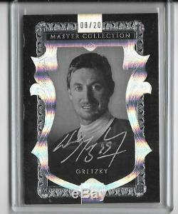 Wayne Gretzky 2015 Upper Deck Master Collection Autograph Auto #08/20