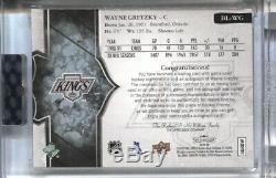 Wayne Gretzky 2017-18 Upper Deck Ud Splendor Patch Auto Autograph /36 Kings