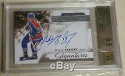 Wayne Gretzky 9.5 2015-16 Upper Deck Premier Signatures Auto/Autograph Pop 2