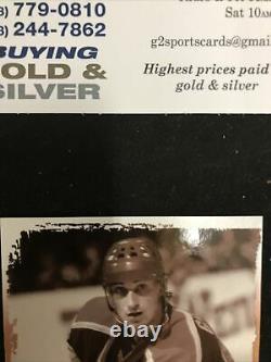 Wayne Gretzky AUTO 2004 Upper Deck Legendary Signatures Hockey Card HOF