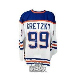 Wayne Gretzky Autographed Edmonton Oilers Heroes of Hockey CCM Jersey Upper Deck