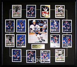 Wayne Gretzky Edmonton Oilers New York Rangers Upper Deck Hockey Card Set Frame