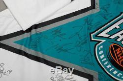 Wayne Gretzky Howe Jagr Signed Auto Autograph 94 All Star Jersey Uda Upper Deck