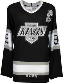Wayne Gretzky LA Kings Signed Black CCM Replica Jersey Upper Deck Fanatics