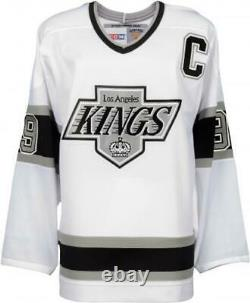 Wayne Gretzky NHL Los Angeles Kings Signed White Replica Jersey Upper Deck COA