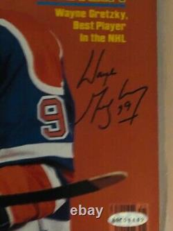 Wayne Gretzky Signed 1981 Sports Illustrated Si First Cover Oilers Upper Deck