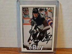 Wayne Gretzky Signed 1993-94 Upper Deck #99 COA