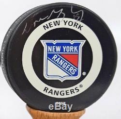 Wayne Gretzky Signed Auto Autograph Hockey Puck Upper Deck Uda Ny Rangers #99