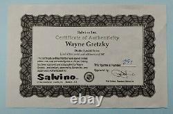 Wayne Gretzky Signed Auto LA Kings Salvino Statue Upper Deck UDA COA /368