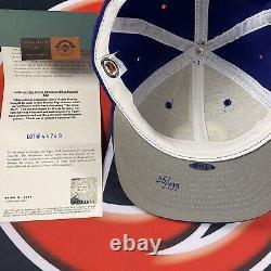 Wayne Gretzky Signed Edmonton Oilers Baseball Hat Limited Edition Upper Deck