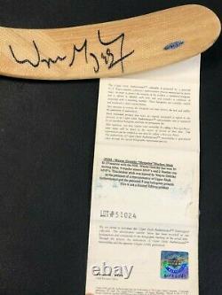Wayne Gretzky Signed Hockey Stick Autograph Auto UDA Upper Deck Authenticated