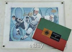 Wayne Gretzky Signed LE 1994-95 Upper Deck #226 Jumbo Card UD COA-NM-FREE SHIP