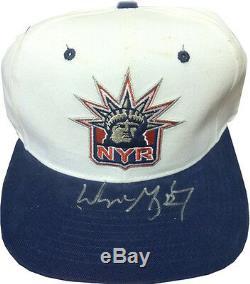 Wayne Gretzky Signed New York Rangers liberty Hat Uda Coa / 199 Upper Deck Auto