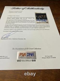Wayne Gretzky Signed Upper Deck Card Psa Dna Coa Los Angeles Kings Autographed