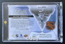 Wayne Gretzky The Cup Limited Logos /10 2015-16 Upper Deck Patch Auto AllStar