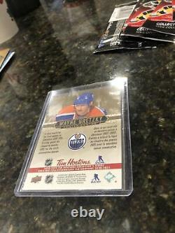 Wayne Gretzky Tribute Card WGT-1 Tim Hortons 20-21 Upper Deck Very Rare 112000