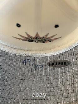 Wayne Gretzky UDA Signed Hat Upper Deck #49/199