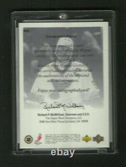 Wayne Gretzky Upper Deck Authentics Autographed Signed 1999 St. Louis Blues