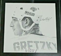 Wayne Gretzky Upper Deck Signed Framed Welcome to LA Poster with Upper Deck COA